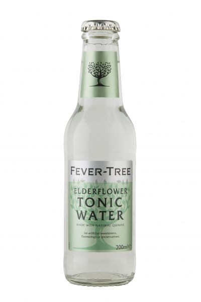 Fever Tree Elderflower Tonic Water 0,2l Glasflasche inkl. 0,15€ Pfand
