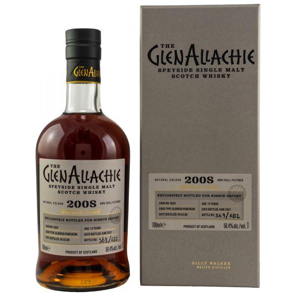 GlenAllachie Single Cask 5034 / Kirsch exklusiv