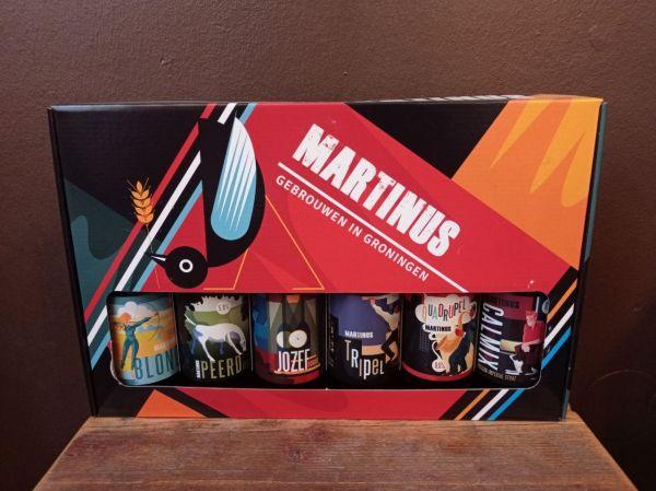 Martinus Geschenkset mit sechs Craftbieren