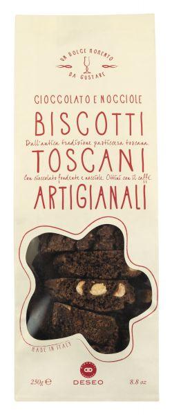 Biscotti Toscani - mit dunkler Schokolade - 250g