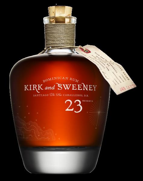 Kirk & Sweeney 23 years reserva Rum