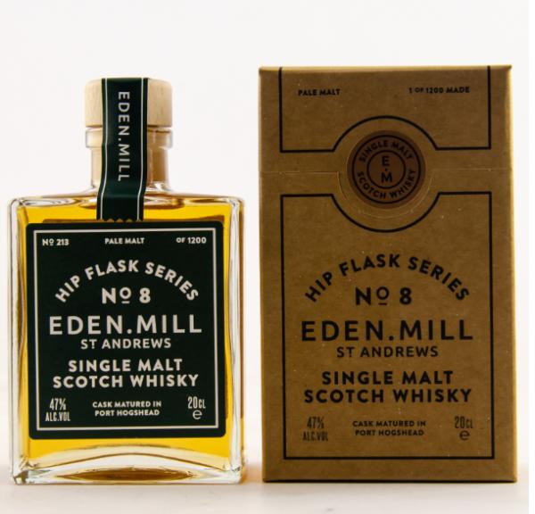 Hip Flask Series No.8 - Single Malt Scotch Whisky 0,2l - 47% Alk.