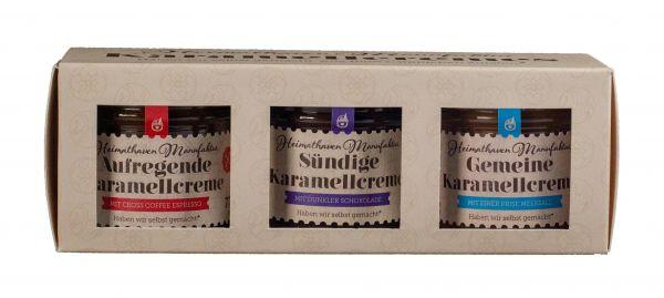 3er Set Karamellcreme Minis