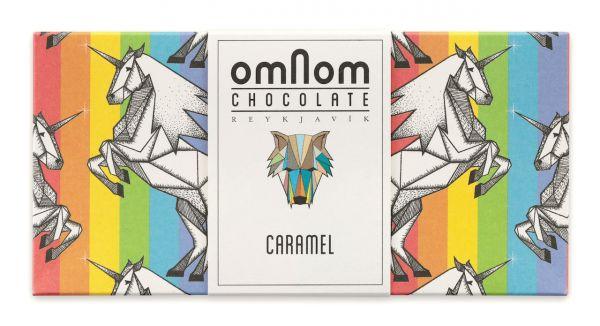 Omnom Chocolate Karamell Vollmilchschokolade