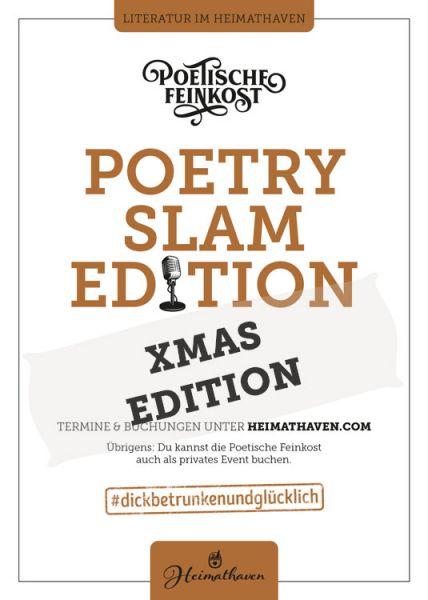 Poetische Feinkost / Oldenburg / Poetry Slam XMAS Edition 15. Dezember 2020