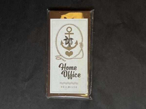 Homeoffice Schokolade Vollmilch von Schokovida