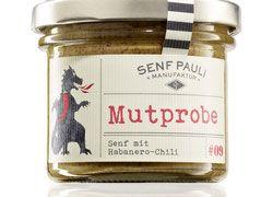 Mutprobe - Senf mit Habanero-Chili - 110ml