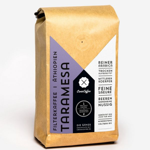 Taramesa (Äthiopien) 250g, Filterkaffee