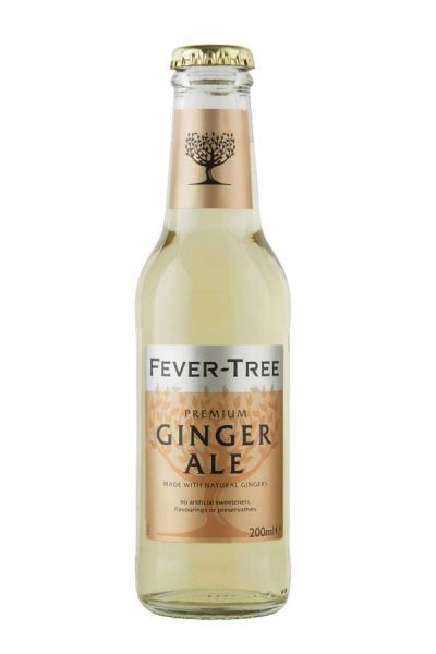 Fever Tree Ginger Ale 0,2l Glasflasche inkl. 0,15€ Pfand