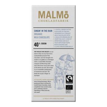 Malmö Bio Milchschokolade- Singing in the rain- 80g