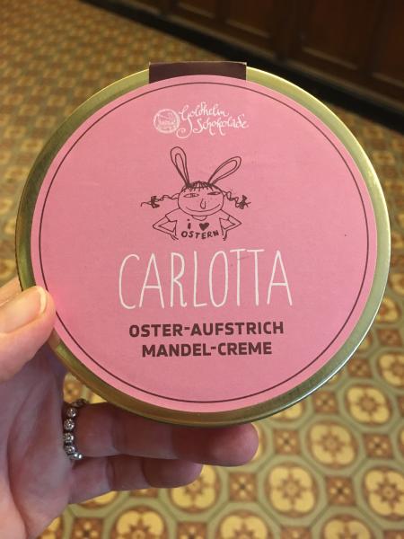 Goldhelm - Aufstrich- Oster-Carlotta - Mandelcreme - 300g
