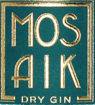 Kosmaten GbR | MOSAIK Dry Gin