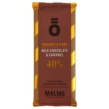 """Malmö Bio """"Ö"""" Milchschokolade Karamell- 55g"""
