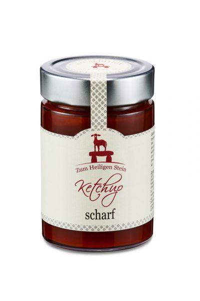 Scharfer Ketchup Zum Heiligen Stein