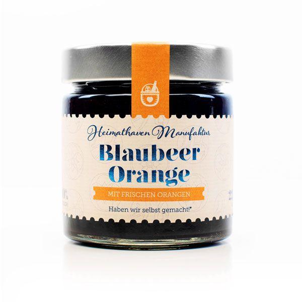 Blaubeer Orange Fruchtaufstrich / 225g