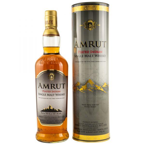 """Amrut Single Malt Whisky """"peated"""""""