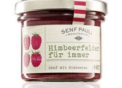 Himbeerfeld für immer: Senf mit Himbeeren - 110ml