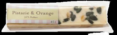 Gmeiner - Schokoladenriegel - Pistazie & Orange - 45g