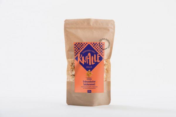 Knallle Popcorn Erdnussbutter Salzkaramell