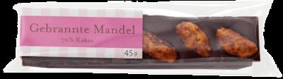 Gmeiner - Schokoladenriegel - Gebrannte Mandeln - 45g