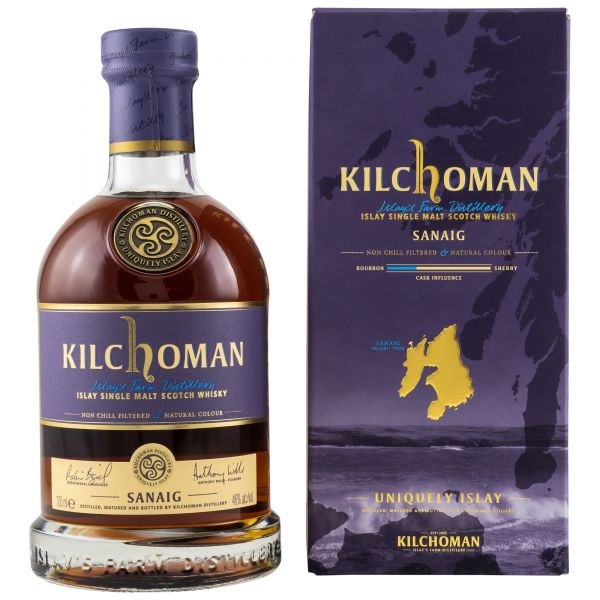 Kilchoman Sanaig / 0,7l - 46%