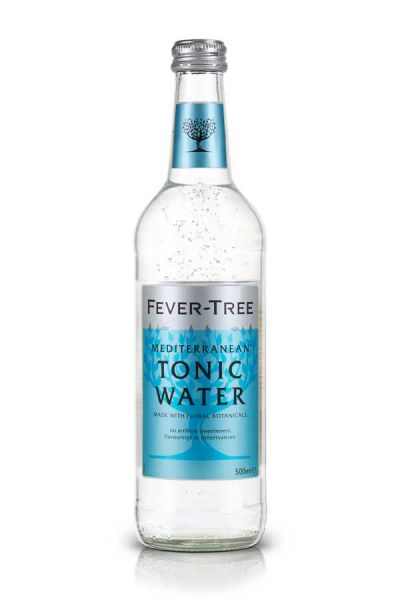 Fever Tree Mediterranean Tonic Water 0,5l Glasflasche inkl. 0,15€ Pfand