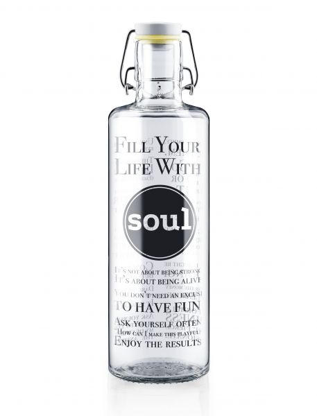 Soulbottles - Fill Your Life with Soul - 1l