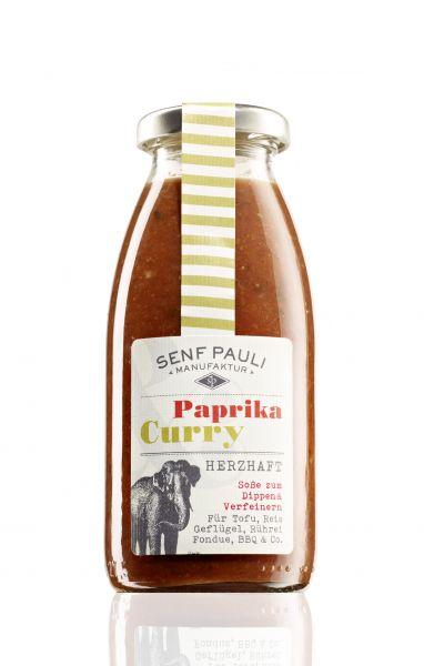 Soße Paprika und Curry