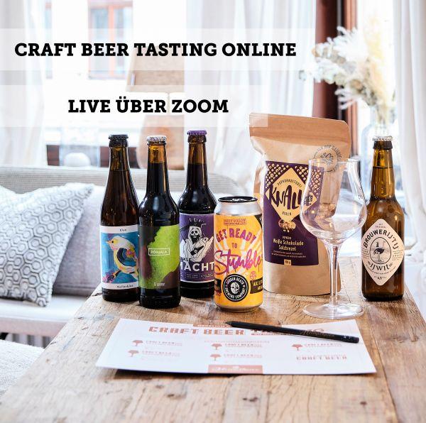 Craft Beer Tasting online - 19. Juni 2021