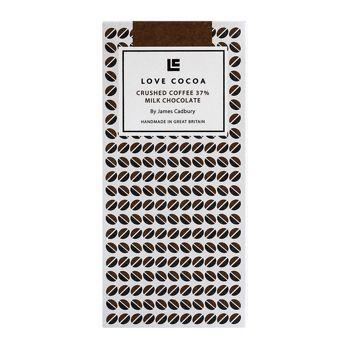 Love Cocoa Crushed Coffee Milk Chocolate 37%